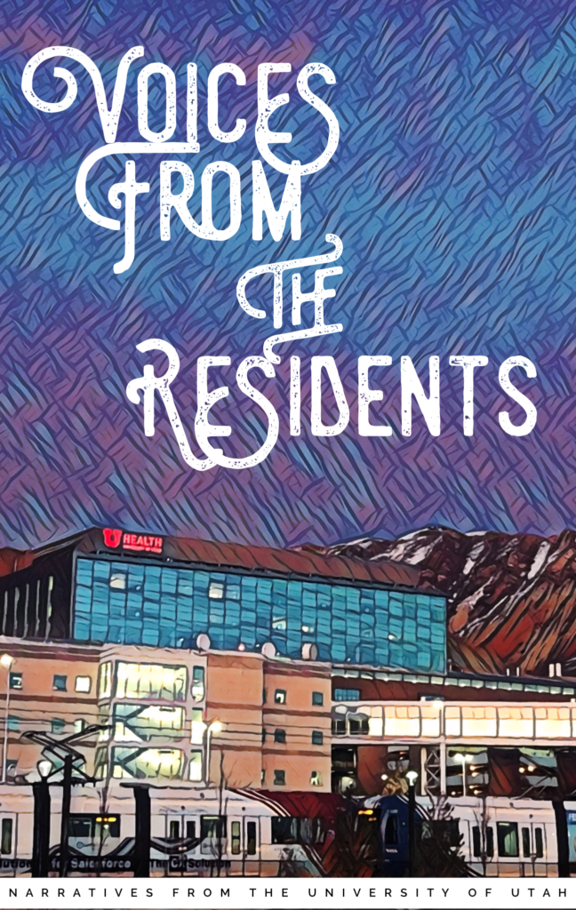 2020 Volume-1,Voices from the Residents, front cover